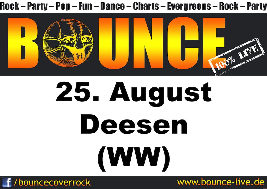 BOUNCE rockt Deesen