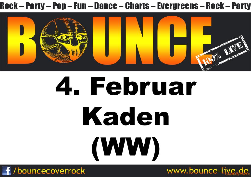 BOUNCE rockt Kaden