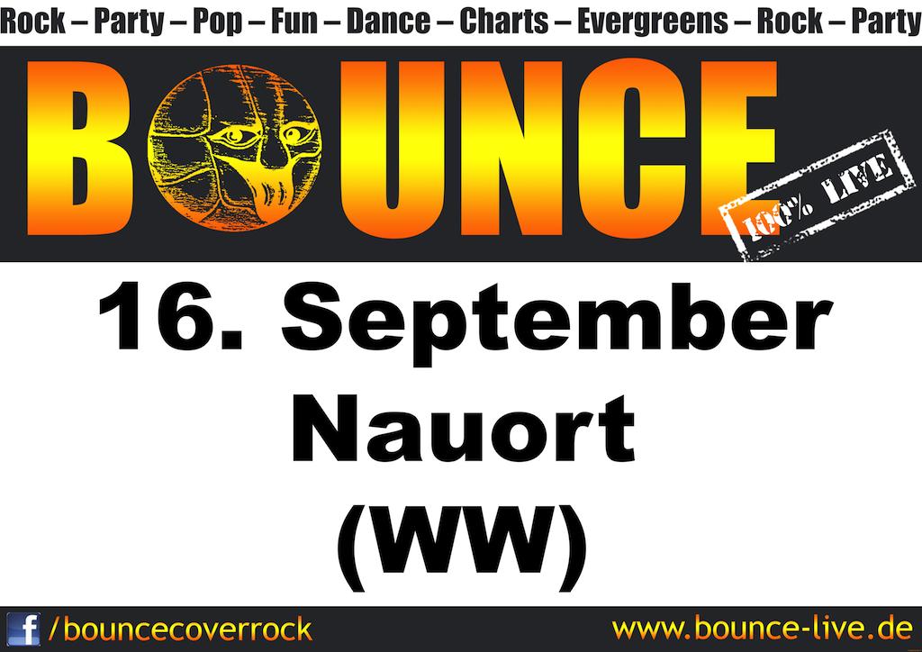 BOUNCE rockt Nauort