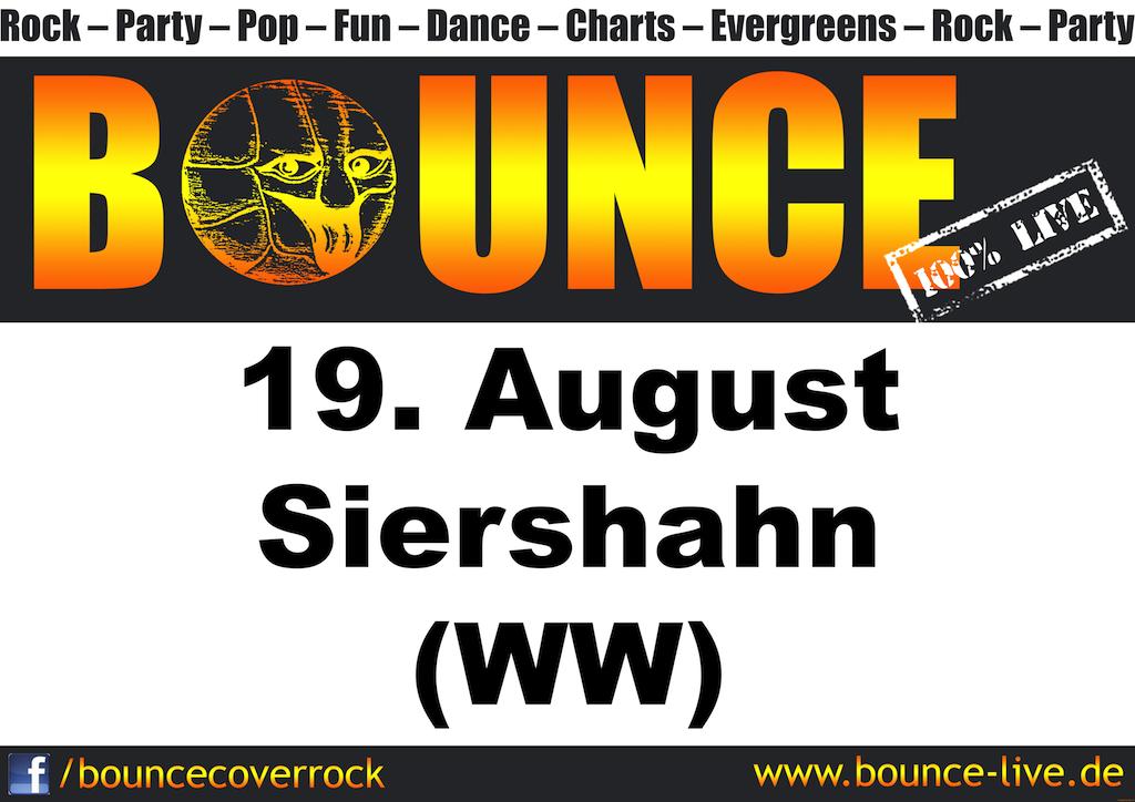 BOUNCE rockt Siershahn